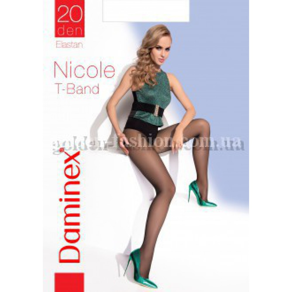 Колготки Daminex 20 den Nicole T-band