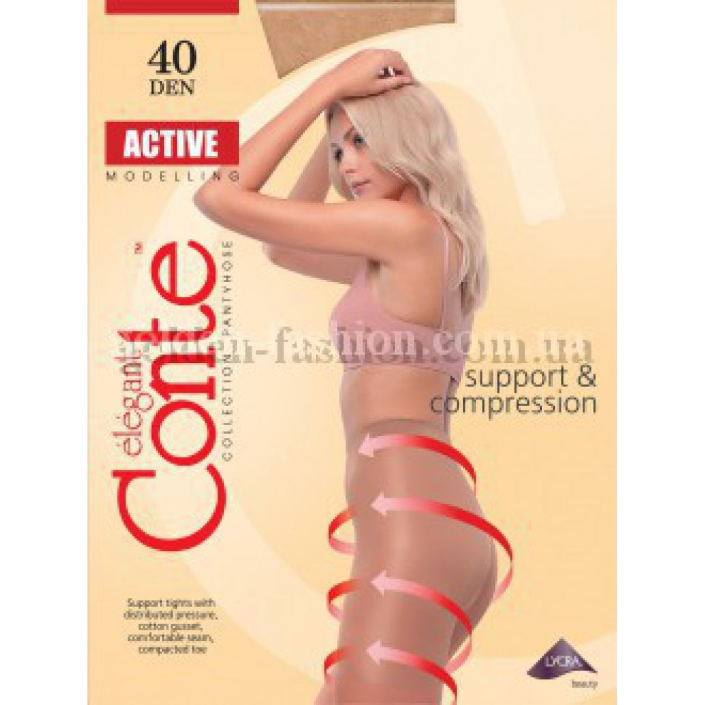 Колготки Conte Active 40 №5 №6